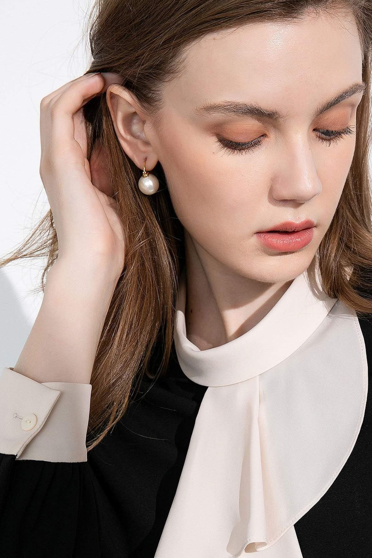 J.ING Angelina Pearl Earrings