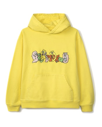 Brain Dead Embroidered Graffiti Hoodie