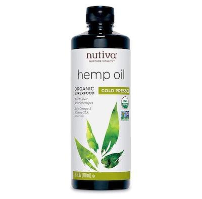 Nutiva Organic Unrefined Hemp Seed Oil, 24 fl. oz.
