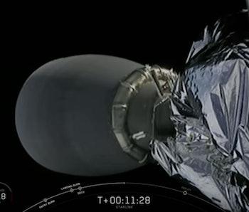 Starlink satellite.