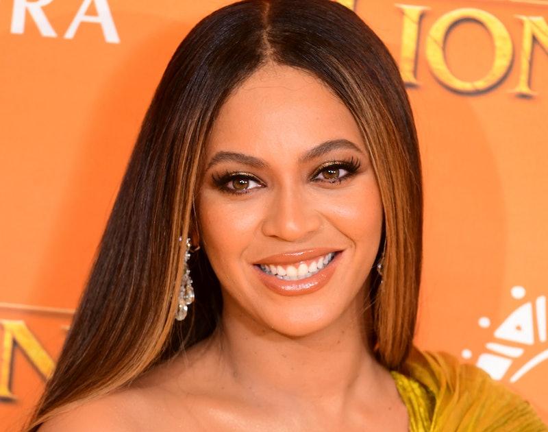 "Beyoncé at the ""Lion King"" premiere red carpet"