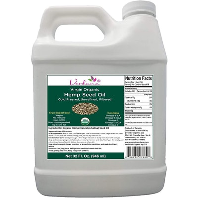 Verdana Organic Canadian Hemp Seed Oil, 32 fl. oz.
