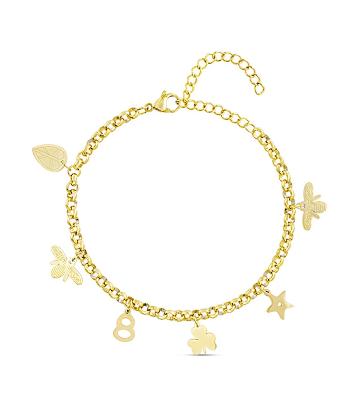 Multicharm Bracelet