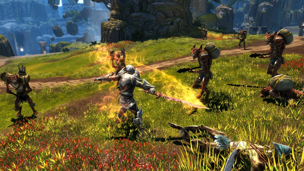 kingdoms of amalur re-reckoning crowd