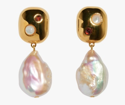 Lizzie Fotunato Mod Reflection Earrings