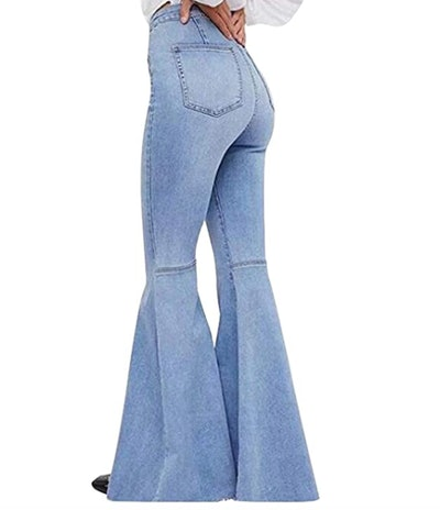 Bisual Stretch Bell Bottom Pants