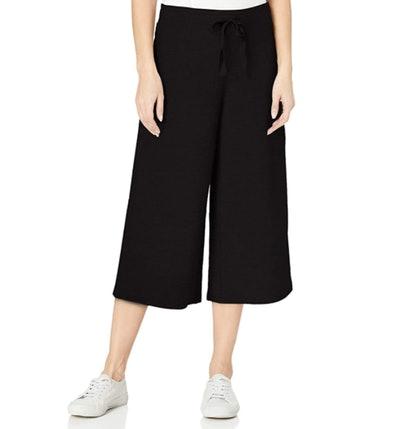 Daily Ritual Terry Cotton and Modal Culotte Pant