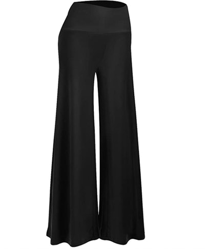 Arolina Women's Stretchy Wide Leg Palazzo Lounge Pants