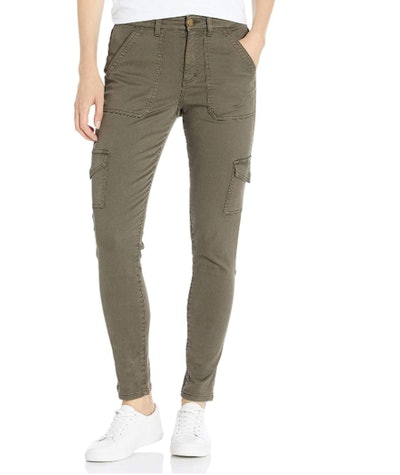 Daily Ritual Stretch Twill High-Rise Skinny Cargo Pant