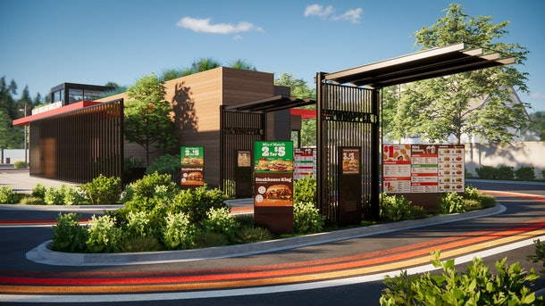 New Burger King post-COVID restaurant designs will have pick-up lockers
