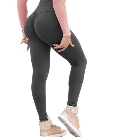 KIWI RATA Women Scrunch Yoga Pants