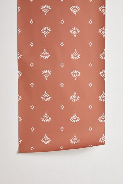 Jaya Block Print Removable Wallpaper