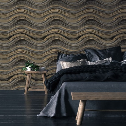 Tempaper Travertine Removable Wallpaper