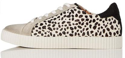 find. Animal Print Suede Sneakers