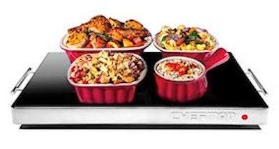 Chefman Electric Warming Tray With Adjustable Temperature Control