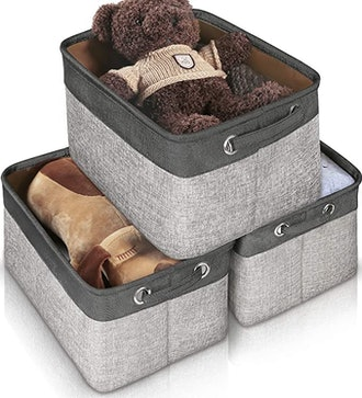 JOMARTO Storage Basket Bin Set (3-Pack)
