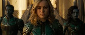 Captain Marvel Carol Danvers Brie Larson