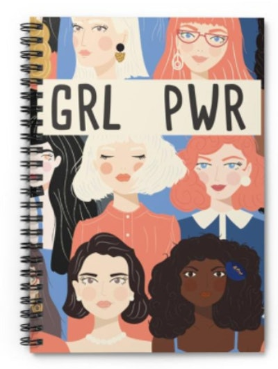 Klausy Prints and Events Spiral Notebook - Ruled Line