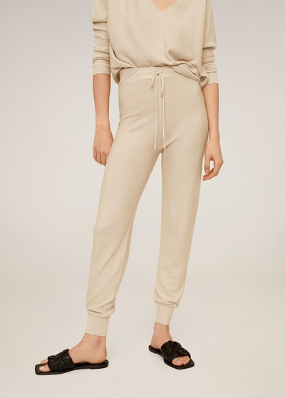 Knit Jogger Style Trousers