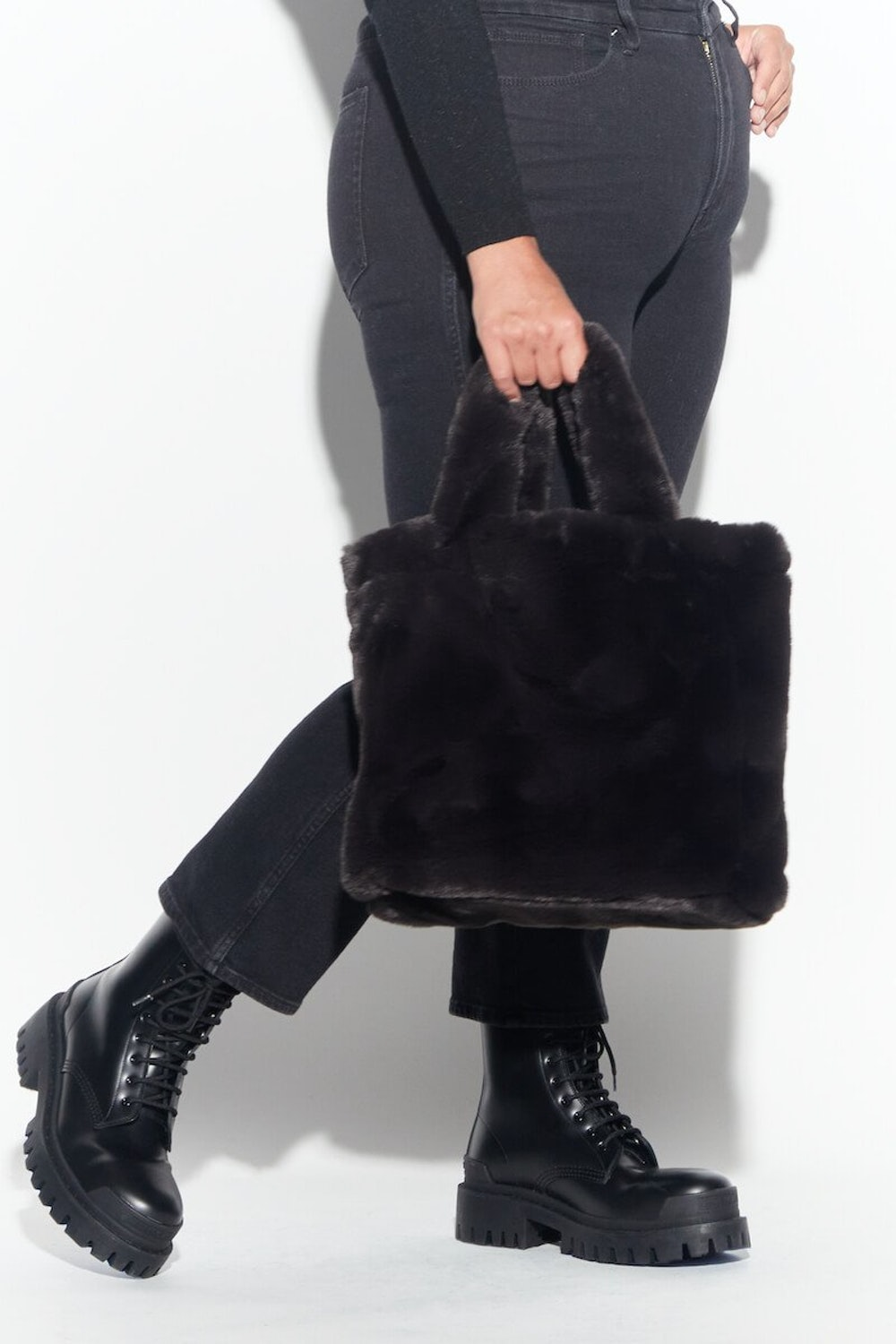 Hayley Faux Fur Bag