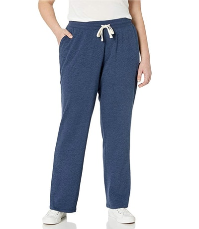 Amazon Essentials Women's Plus Size French Terry Fleece Sweatpant