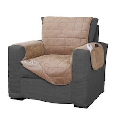 Serta Quilted Electric Warming Furniture Protector