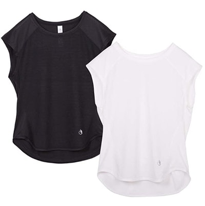 icyzone Workout Shirts (2-Pack)