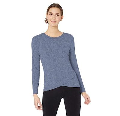 Amazon Essentials Cross Front Long Sleeve Shirt