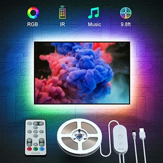 the Govee Store TV LED Backlights