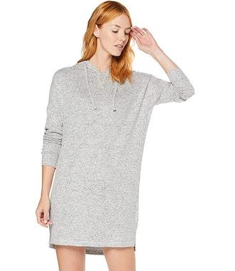 Iris & Lilly Women's Super Soft Loungewear Hooded Shirt