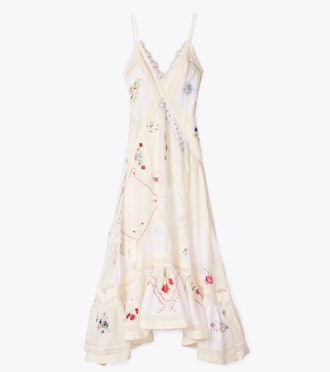 HANDKERCHIEF EMBROIDERED GOWN