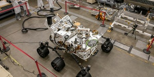 Perseverance rover: NASA's Mars explorer has an Earth twin