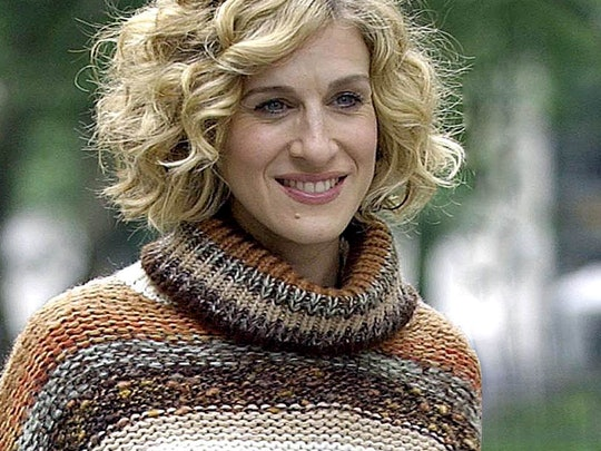 Carrie Bradshaw turtleneck