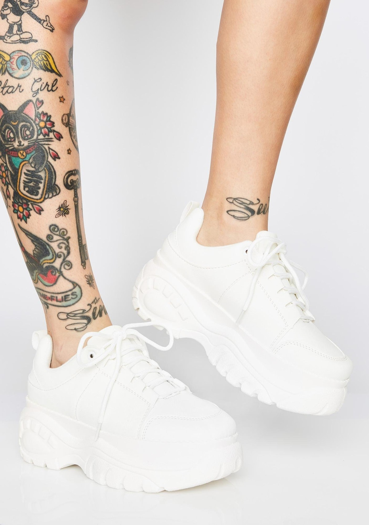 Dolls Kill For the Weekend Platform Sneakers