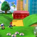 Nintendo Switch Super Mario 3D World.
