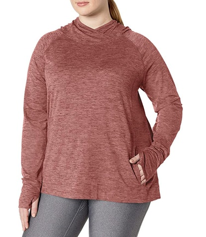 Amazon Essentials Women's Plus Size Brushed Popover Hoodie