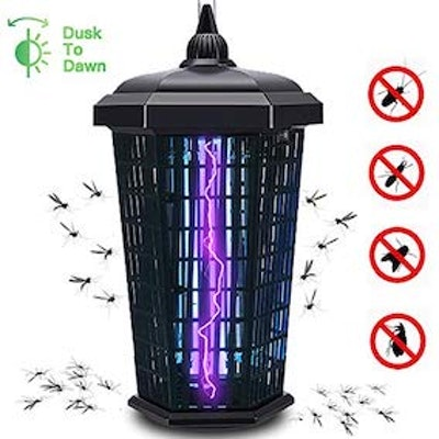 Lanpuly Bug Zapper Electronic Mosquito Zappers Killer UV Insect 4000V 30W Catcher