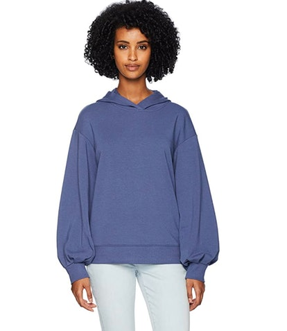 Daily Ritual Women's Terry Cotton and Modal Hoodie
