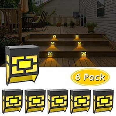 Solar Lights Outdoor Decorative Waterproof LED Fence Lights