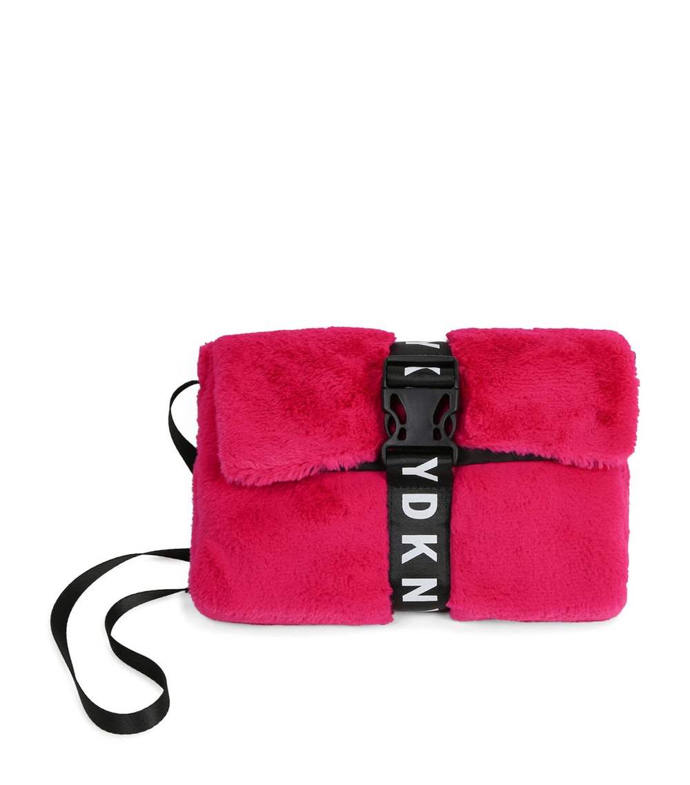 Faux Fur Cross-Body Bag
