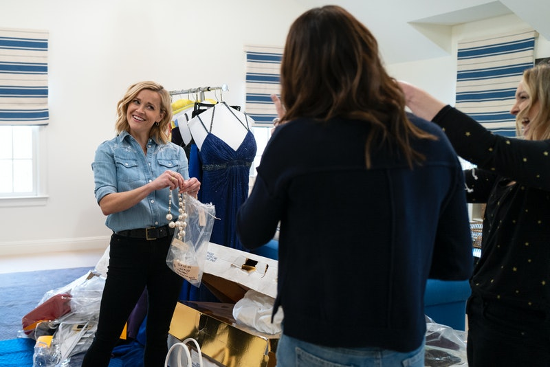 Reese Witherspoon, one of the many celebrity guests on 'Get Organized with the Home Edit' via the Ne...