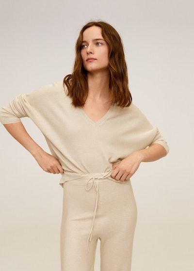 Modal Cotton Blend Sweater