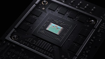 A photo of the Xbox Series X's internals.