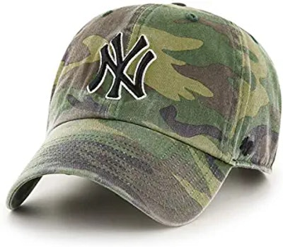 MLB New York Yankees Camo RGW Clean Up Cap Camouflage