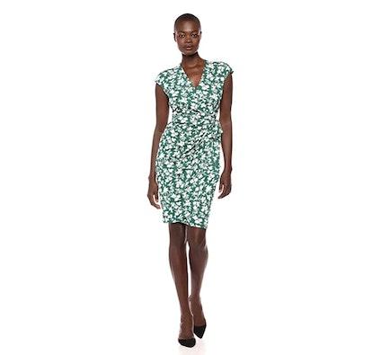 Lark & Ro Wrap Dress