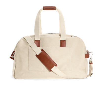 The Weekender -- Natural Canvas