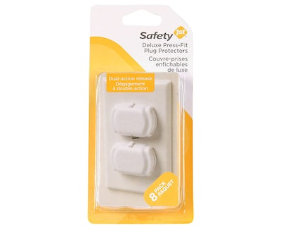 Safety 1st Deluxe Press Fit Outlet Plugs (8-Pack)