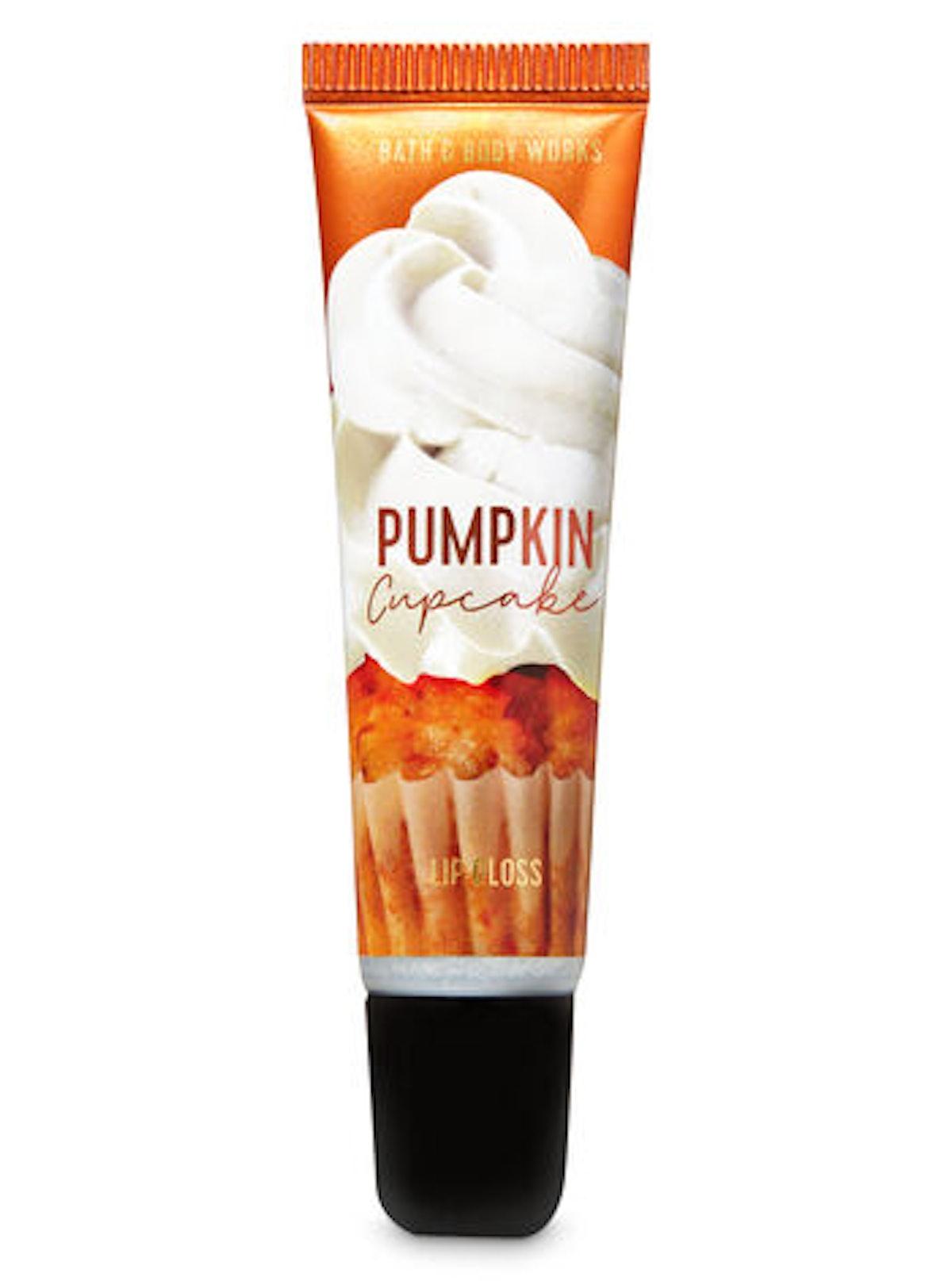 Pumpkin Cupcake Shimmer Lip Gloss