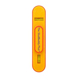 The StudBuddy Plus Magnetic Stud Finder and Level