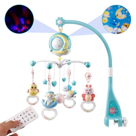 Mini Tudou Baby Musical Mobile Crib